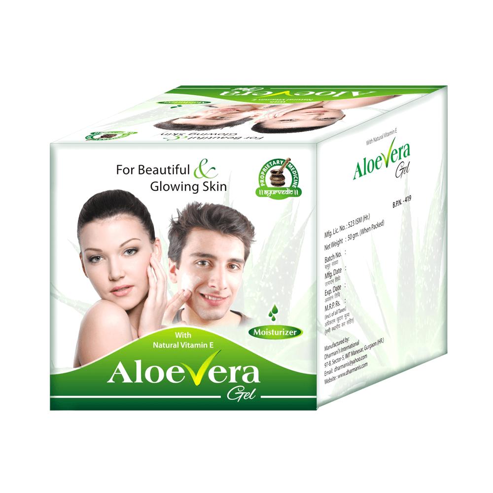 Pure Aloe Vera Skin Moisturizing Cream