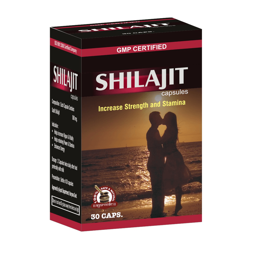 Shilajit Capsules, Natural Anti-Aging Pills