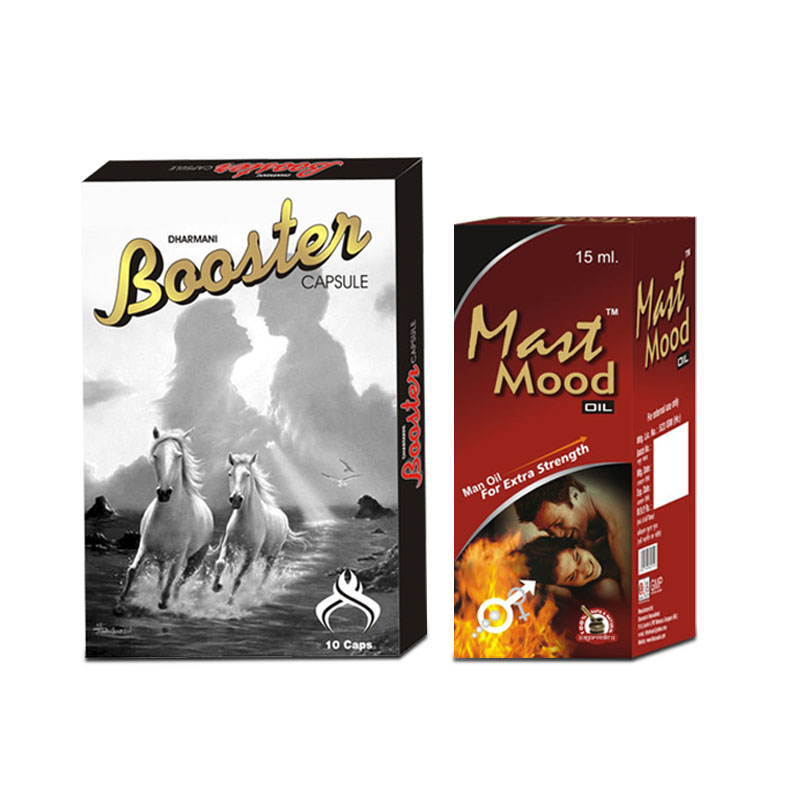 Booster Capsules and Mast Mood Oil