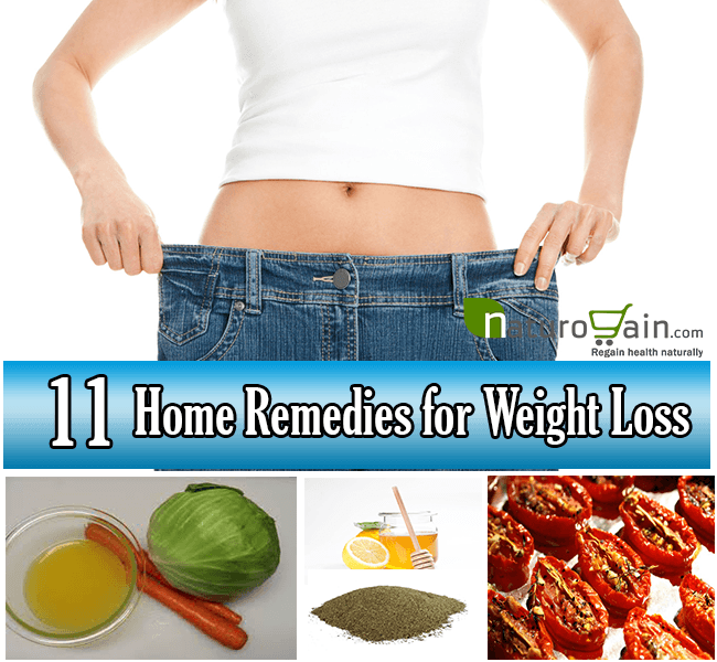 Best Home Remedies for Weight Loss