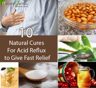 Natural Cures for Acid Reflux