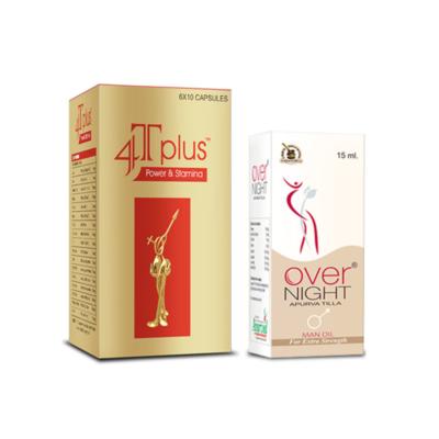 4T Plus Capsules and Overnight Oil