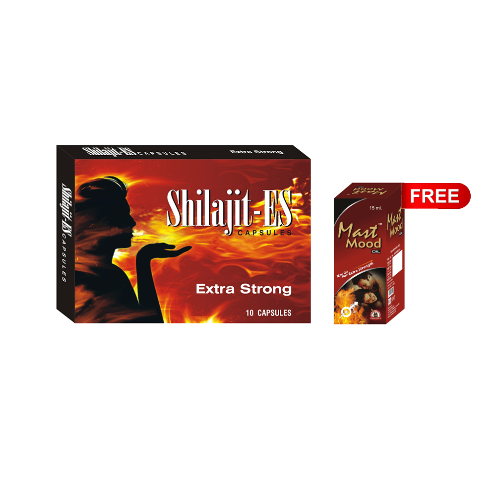 Shilajit ES Capsules for Energy and Stamina