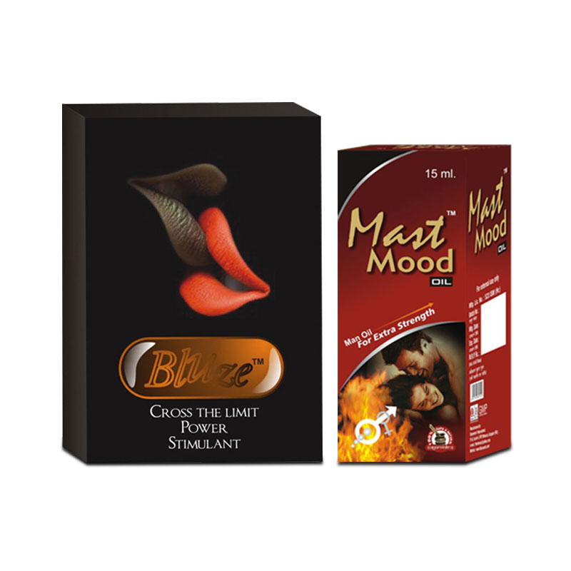 Bluze Capsules and Mast Mood Oil