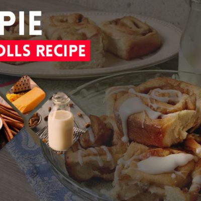 Apple Pie Cinnamon Rolls Recipe