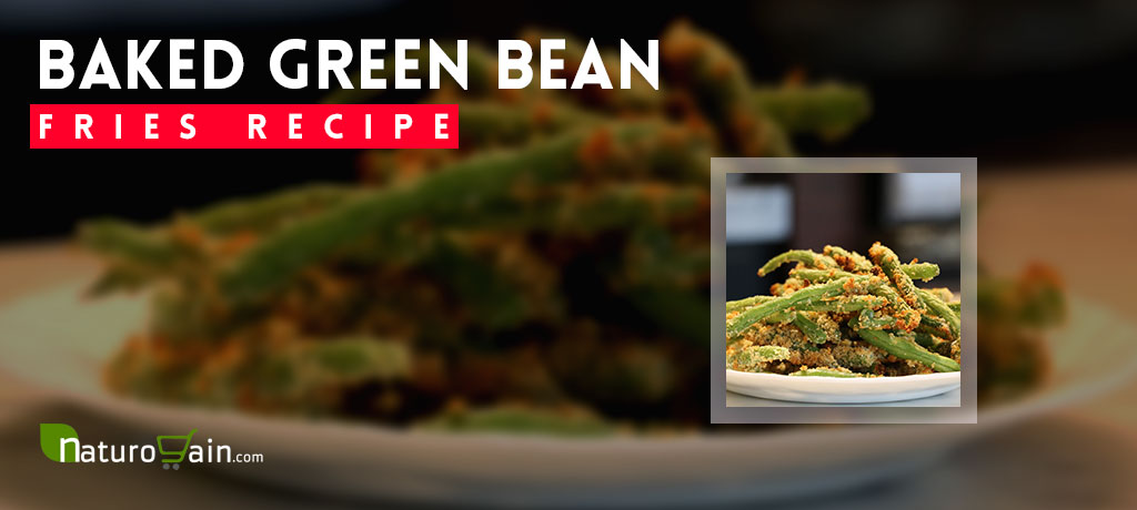 Baked Green Bean Fries Recipe