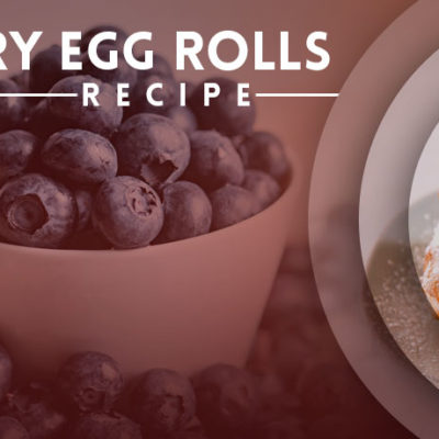 Blueberry Egg Rolls Recipe