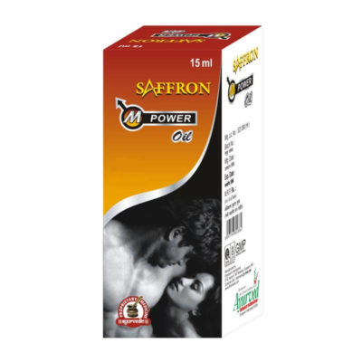 Saffron M Power oil