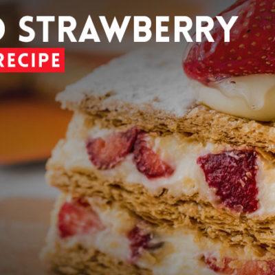 Whipped Strawberry Icebox Cake Recipe