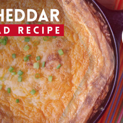 Chile Cheddar Cornbread Recipe