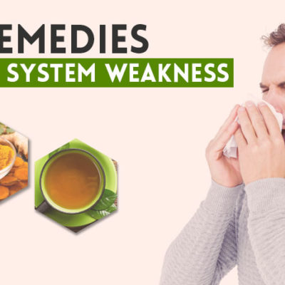 Home Remedies for Immune System Weakness