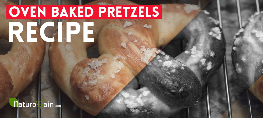 Oven Baked Pretzels Recipe