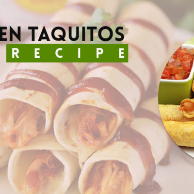 Over Baked BBQ Chicken Taquitos Recipe