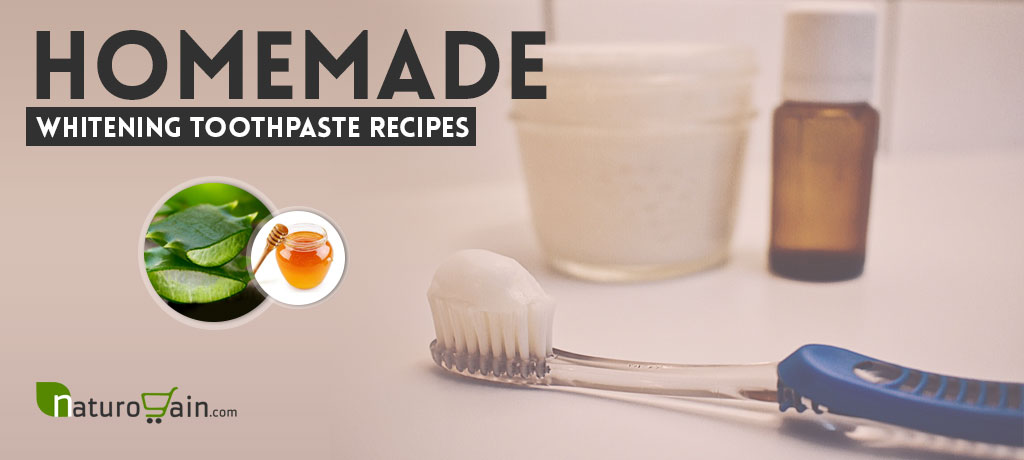 Homemade Whitening Toothpaste Recipes