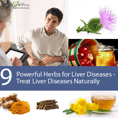 Herbs for Liver Diseases