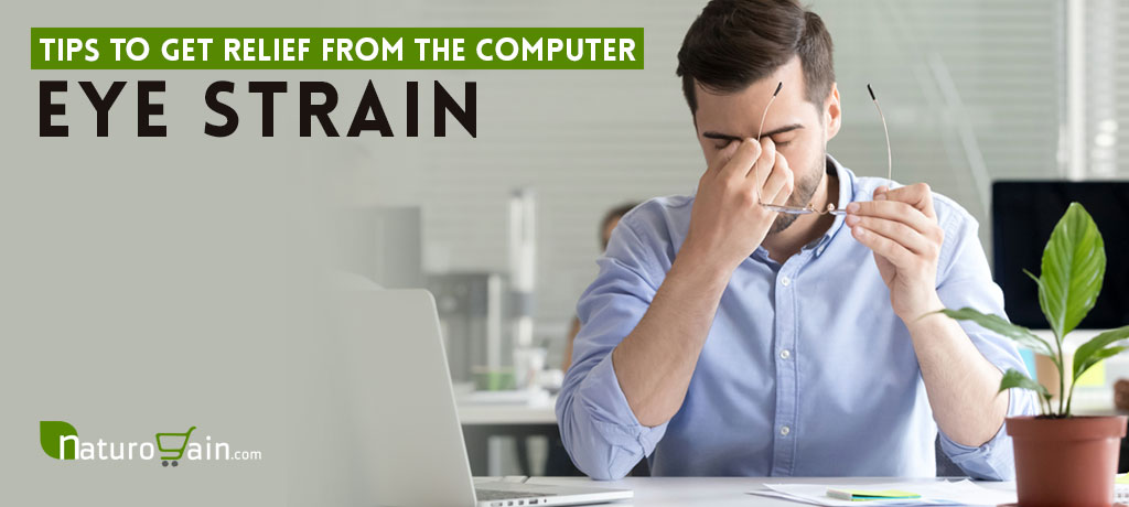 Get Relief from Computer Eye Strain