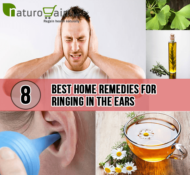 Ringing in ear home remedy