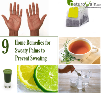Home Remedies for Sweaty Palms