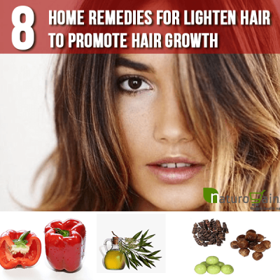 Home Remedies for Lighten Hair