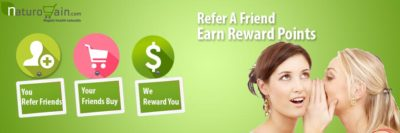 Refer a Friend and Earn Reward Points