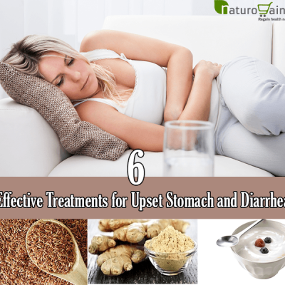 Natural Treatments For Upset Stomach and Diarrhea