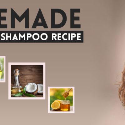 Homemade Hair Growth Shampoo Recipe