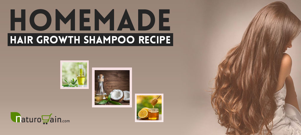 Homemade Hair Growth Shampoo Recipe