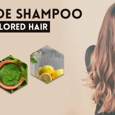Homemade Shampoo Recipe for Colored Hair