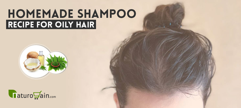 Homemade Shampoo Recipe for Oily Hair