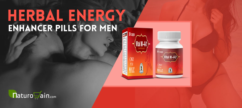 Herbal Energy Enhancer Pills For Men