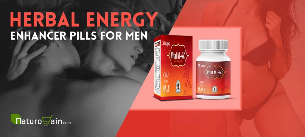 Herbal Energy Enhancer Pills For Men