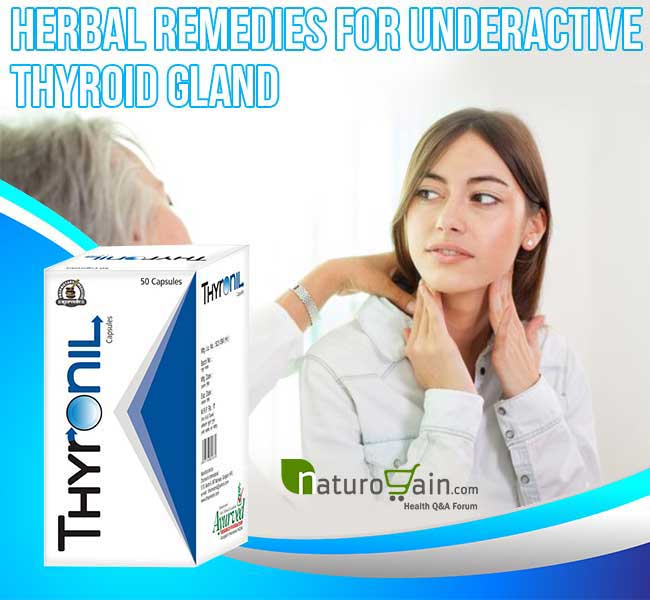 Herbal Remedies For Underactive Thyroid Gland