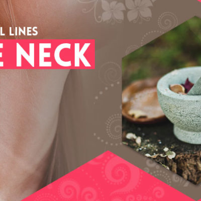 How to get rid of horizontal lines on the neck