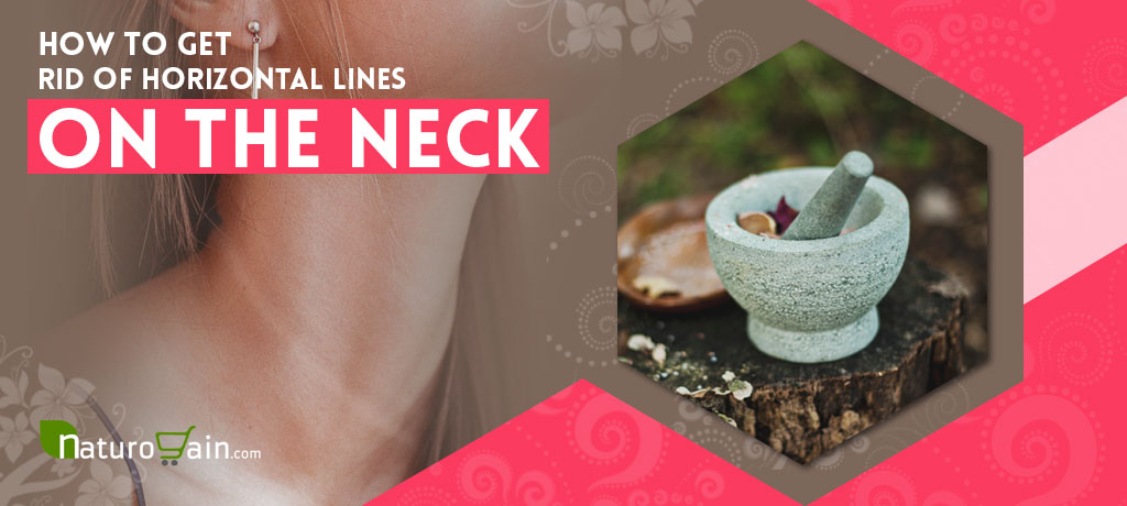 How to reduce neck lines naturally