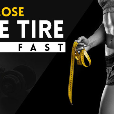 How to Lose Spare Tire Belly, Reduce Side Fat Fast