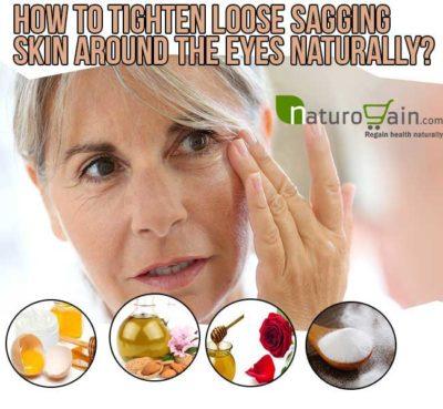 Get Rid of Loose Skin Around the Eyes