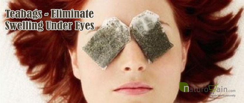 Teabags Eliminate Swelling Under Eyes