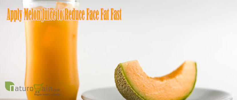Apply Melon Juice to Reduce Face Fat Fast
