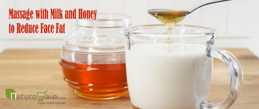 Massage with Milk and Honey to Reduce Face Fat