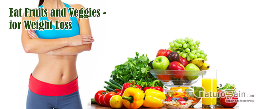 Eat Fruits and Veggies for Weight Loss
