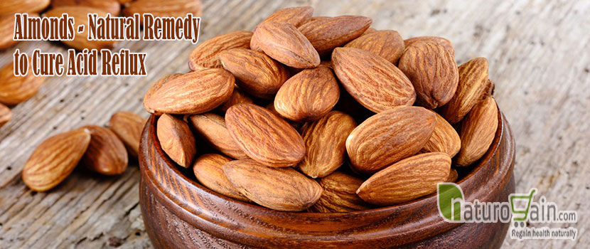 Almonds Natural Remedy to Cure Acid Reflux