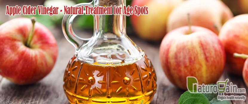 Apple Cider Vinegar Natural Treatment for Age Spots
