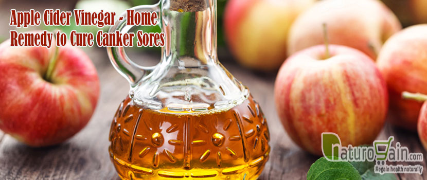 Apple Cider Vinegar Remedy to Cure Canker Sores