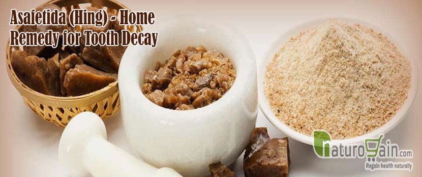 Asafetida Home Remedy for Tooth Decay