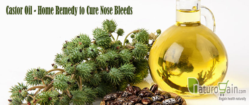 Castor Oil Home Remedy to Cure Nose Bleeds