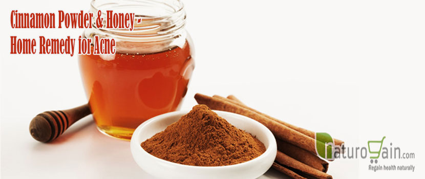Cinnamon Powder and Honey Home Remedy for Acne