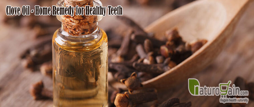 Clove Oil Remedy for Healthy Teeth