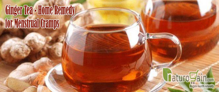 Ginger Tea Home Remedy for Menstrual Cramps