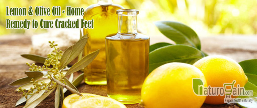 Home Remedy to Cure Cracked Feet