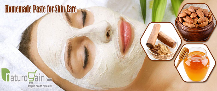 Homemade Paste for Skin Care